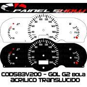Kit Translucido p/ Painel - Cod583v200 - Gol Parati Saveiro Bola G2