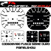 Kit Translúcido p/ Painel - Cod608v180 - Fusca Quadrado 180km
