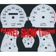 Kit Translúcido p/ Painel - Cod624v240 - Tempra Turbo 95 a 99
