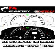 Kit Translucido p/ Painel - Cod635v240 - Brava Marea 240km/h