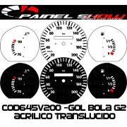 Kit Translúcido p/ Painel - Cod645v200 - Gol Bola 95 ou 96