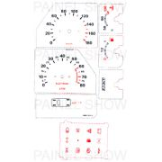 Kit Neon p/ Painel - Cod39v180 - Uno / Fiorino