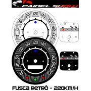 Kit Translúcido p/ Painel - Cod594v220 - Fusca até 220km/h Turbo Retrô