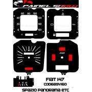 Kit Translucido p/ Painel - Cod689v160 - Fiat 147 Spazio Panorama