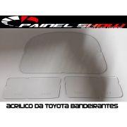 Acrilico Lente de Proteção p/ Painel da Toyota Bandeirantes