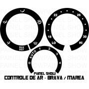 Acetato de Controle de ArVentilação - Brava Marea