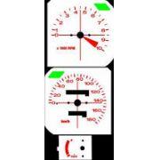 Kit Acrilico p/ Painel - Cod422v180 - CB450 DX Custon Etc.
