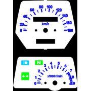 Kit Acrilico p/ Painel - Cod428v180 - XT600 XT 600 Tenere