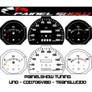 Kit Translucido p/ Painel - Cod706v180 - Uno Fiorino com Temperatura