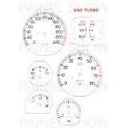 Adesivo p/ Painel - Cod93v240 - Uno Turbo