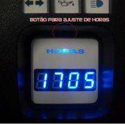 Relogio de Horas Digital Personalizado para Painel do Fusca Itamar Cod570v160