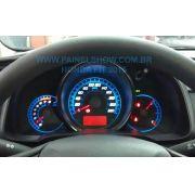 Acetato Translucido p/ Painel - Cod696v220 - Honda Fit 2014 2015 Placa Plana
