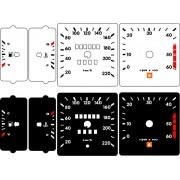Kit Translúcido p/ Painel - Cod686v220 - Opala 85 86 220 km Contagiros 60