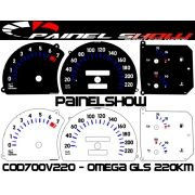 Kit Translúcido p/ Painel - Cod700v220 - Omega GLS 220Km