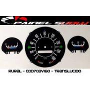 Kit Translucido P/ Painel Show + Leds - Rural Cod703v160