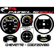 Kit Translucido Painel Show - Cod720v180 Chevette Top
