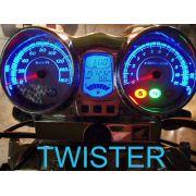 Kit Translucido Acrilico p/ Painel - Cod420v160 - TWISTER CBX250