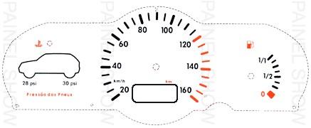Adesivo p/ Painel - Cod28v160 - Gol Special / City / G3  - PAINEL SHOW TUNING - Personalização de Painéis de Carros e Motos
