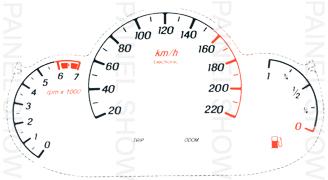 Adesivo p/ Painel - Cod86v220 - Ford KA  - PAINEL SHOW TUNING - Personalização de Painéis de Carros e Motos