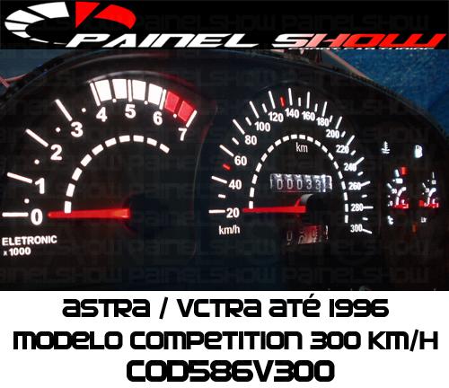 Kit Translúcido p/ Painel - Cod586v300 - Vectra  - PAINEL SHOW TUNING - Personalização de Painéis de Carros e Motos