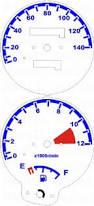 Kit Translúcido p/ Painel - Cod430v140 - Suzuki Yes 125  - PAINEL SHOW TUNING - Personalização de Painéis de Carros e Motos