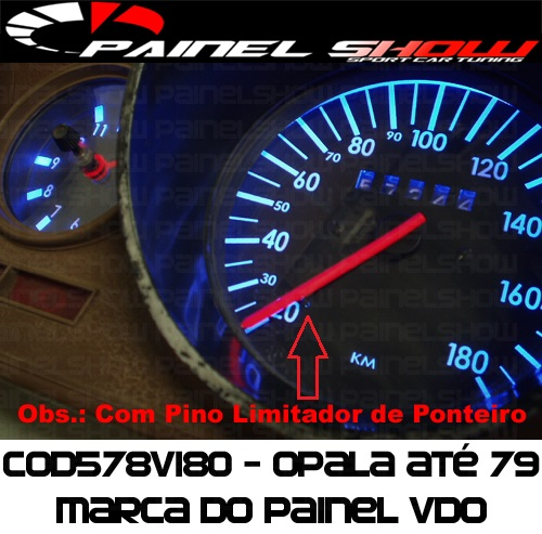 Kit Translúcido p/ Painel - Cod578v180 - Opala J1250  - PAINEL SHOW TUNING - Personalização de Painéis de Carros e Motos