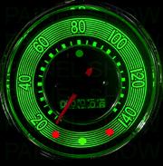 Kit Translúcido p/ Painel - Cod594v220 - Fusca até 220km/h Turbo Retrô  - PAINEL SHOW TUNING - Personalização de Painéis de Carros e Motos