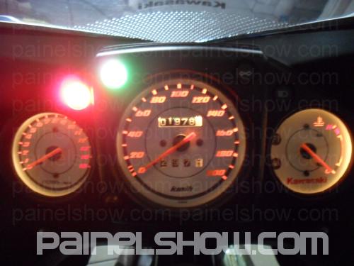 Kit Translucido p/ Painel - Cod438v200 - Kawasaki Ninja 250R  - PAINEL SHOW TUNING - Personalização de Painéis de Carros e Motos
