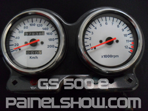 Kit Acrilico p/ Painel - Cod408v200 - GS500 E Suzuki  - Loja - Painel Show Tuning