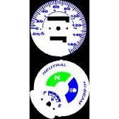 Kit Translúcido p/ Painel - Cod424v170 - CG150  - PAINEL SHOW TUNING - Personalização de Painéis de Carros e Motos