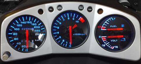 Kit Acrilico p/ Painel - Cod431v240 - CBX750 FOUR  - PAINEL SHOW TUNING - Personalização de Painéis de Carros e Motos