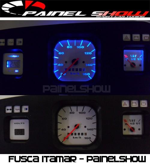Kit Translúcido p/ Painel - Cod570v160 - Fusca 1980 em diante  - PAINEL SHOW TUNING - Personalização de Painéis de Carros e Motos