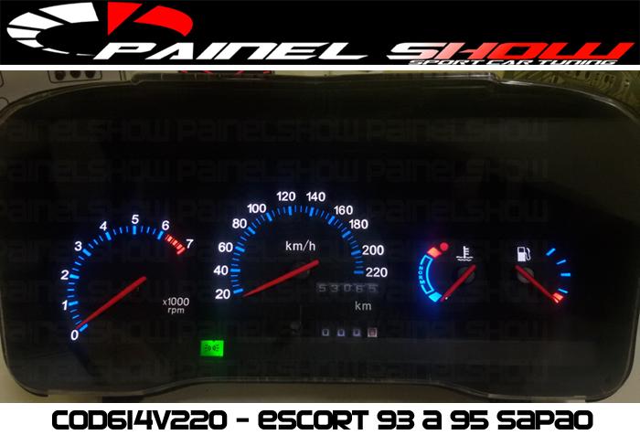 Kit Translúcido p/ Painel - Cod613v220 - Escort / Verona  - PAINEL SHOW TUNING - Personalização de Painéis de Carros e Motos