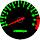 Cor 144 Fundo Preto - Nº Verde - Detalhe Vermelho