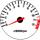 Cor 001 Fundo Branco - Nº Preto - Detalhe Vermelho