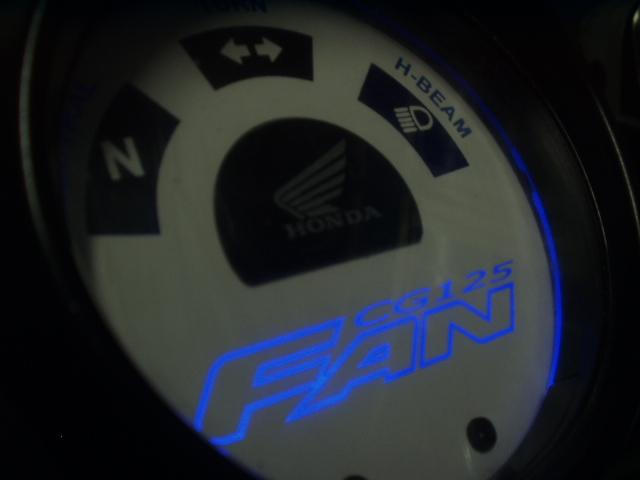 Kit Acrilico Translucido p/ Painel - Cod401v140 - CG 125 Fan  - PAINEL SHOW TUNING - Personalização de Painéis de Carros e Motos