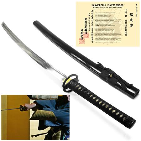 Espada Kaitou Shinken Musashi T10 + kit de acessórios