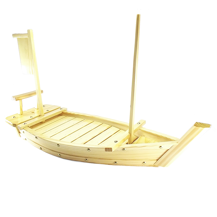 Barco p/ Sushi Madeira  60 cm