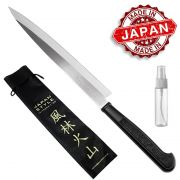 Faca Yanagiba p/ Sushi Sashimi Sekizo 37 cm + Capa + Óleo