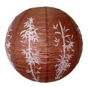 Luminária Marrom Bambu 40 cm