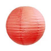 Luminária Vermelha Lisa 30 cm
