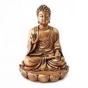 Buda Dourado Sentado Lotus 17 cm