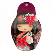 Descanso p/ Panela Kokeshi 13 x 22 cm - Vinho