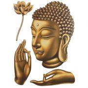 Adesivo Buda Face 29 x 45cm