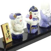 Sete Deuses da Felicidade 27 x 4 cm