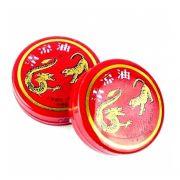 Kit 2 Pomada Tigre e Dragão 100% Legítima - Zhonghua Farmaceutical (Pomada Chinesa / Japonesa) Sensação térmica instantânea, Eficaz alívio da dor e Estimulante de áreas erógenas