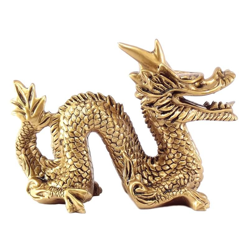 Dragão Dourado 15 x 11 cm