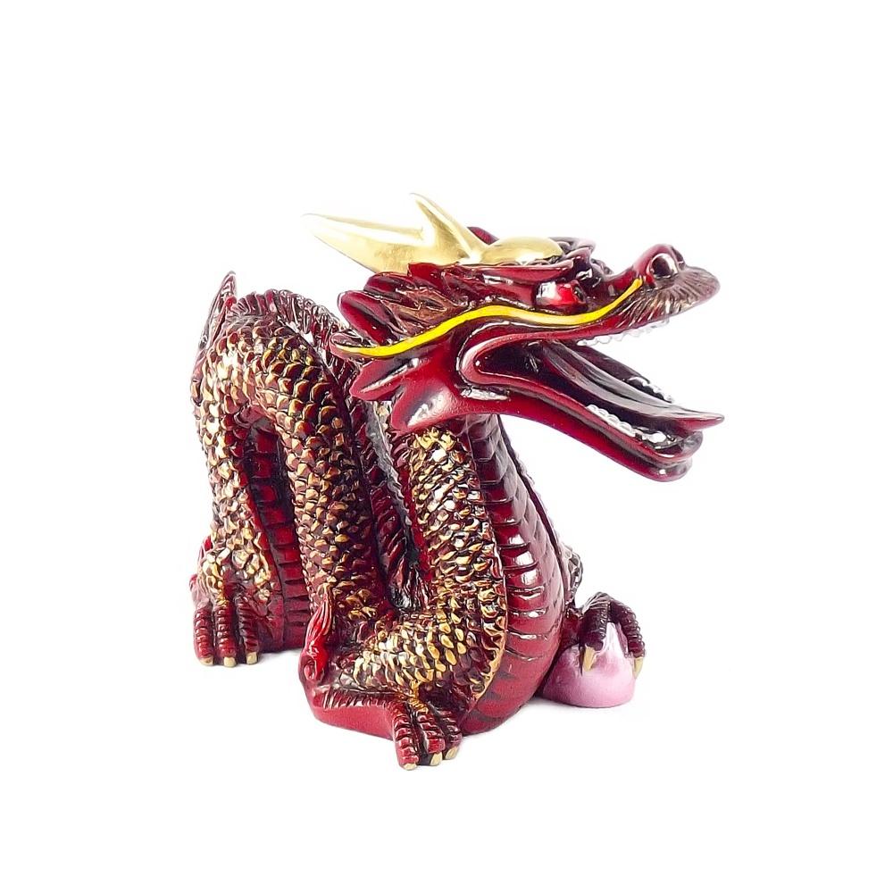 Dragão Vinho 11 x 9 cm