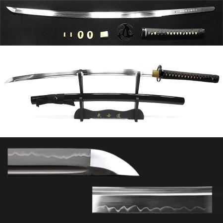 Espada Kaitou Shinken Kaminari 1095 + kit de acessórios