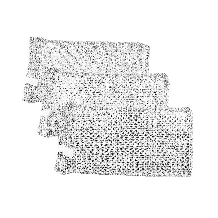 Esponja Trama de Alumínio c/ 3 unid.